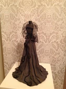Paverpol-tekstiilikovetusaineella muotoiltu torso.
